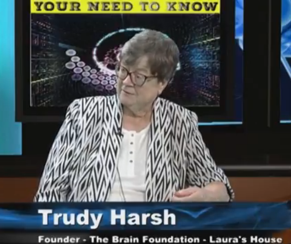 The Brain Foundation – Laura's Houses – with founder Trudy Harsh