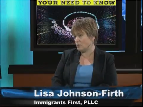 Lisa Johnson-Firth of Immigrants First PLLC talks about Know Your Rights