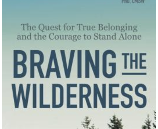 Braving the Wilderness – Brené Brown