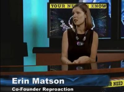Erin Matson of Reproaction