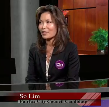 So Lim Candidate Fairfax City