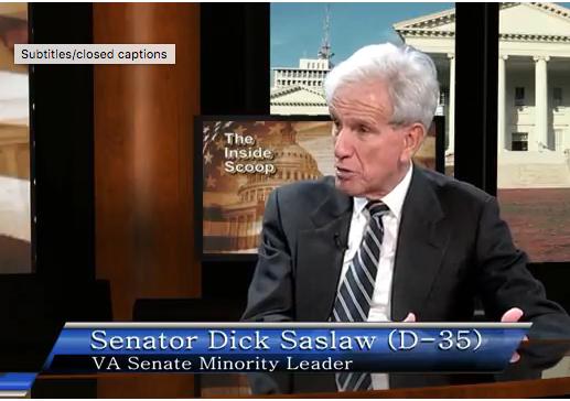 Senator Dick Saslaw – Inside Scoop
