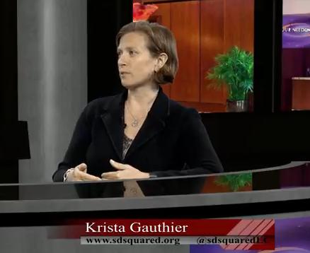 Krista Gauthier – Sliding Doors Squared