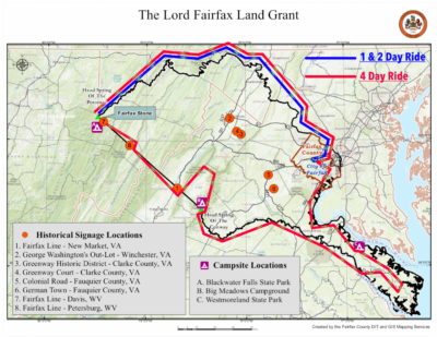 Lord Fairfax Charity Ride 2018