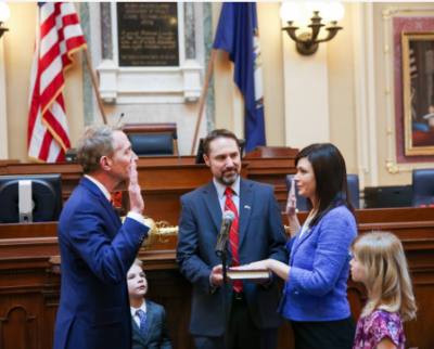 Del. Karrie Delaney Swearing In