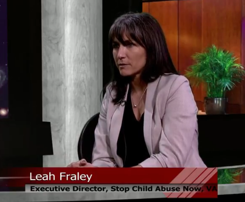 Stop Child Abuse Now with Leah Fraley