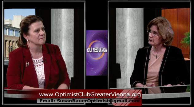 Optimist Club of Greater Vienna with Susan Bauer