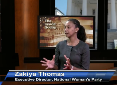 Zakiya Thomas Natl Woman's Party