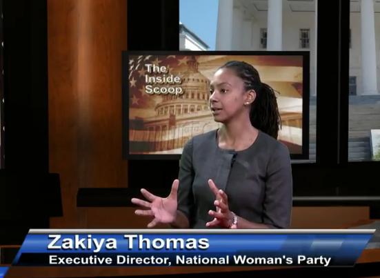 National Woman's Party with Zakiya Thomas