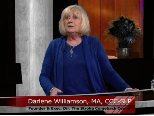 Stroke Comeback Center with Darlene Williamson