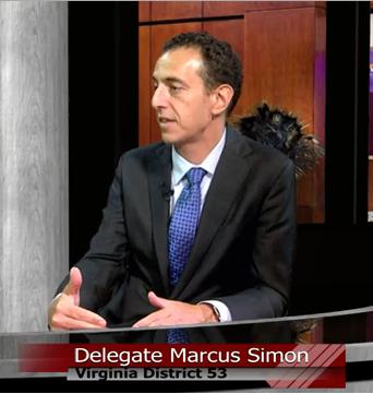 Delegate Marcus Simon